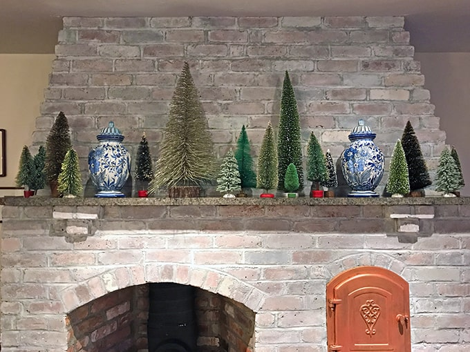How To Store Vintage Bottle Brush Trees