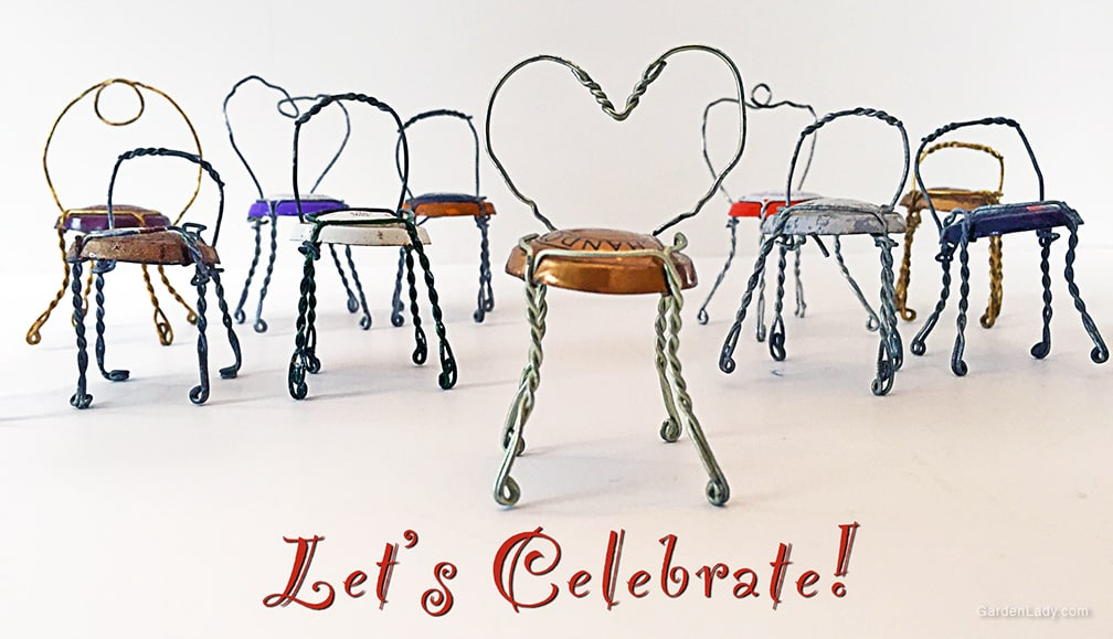How To Make Champagne Wire Chairs