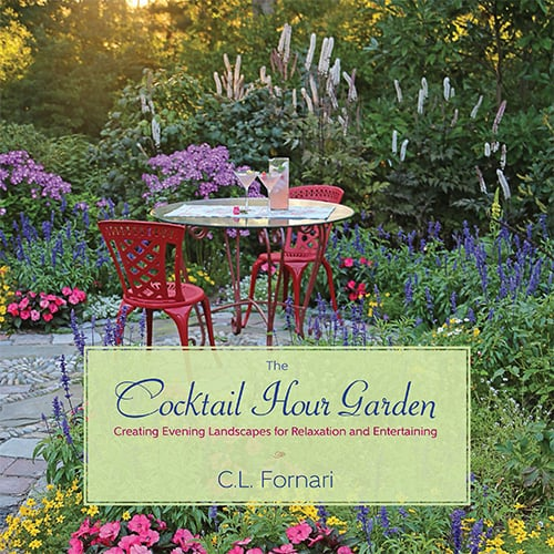 Read about an assortment of must-have plants for the cocktail hour garden in my new book.