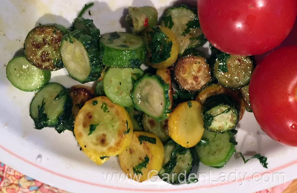 Fresh Vegetables…Simple and Flavorful