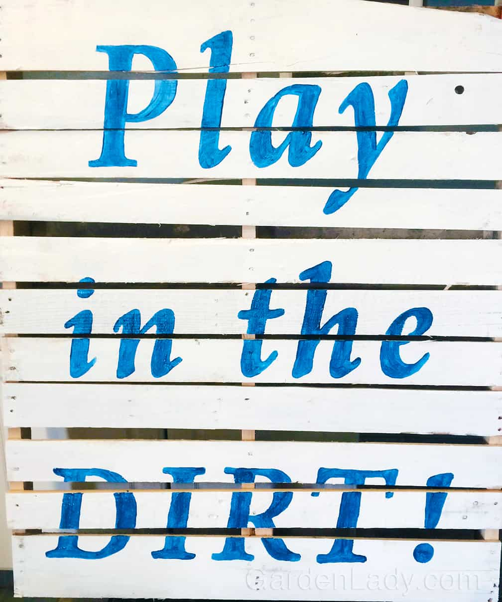 Play ball and play in the dirt. Just get out there an PLAY.