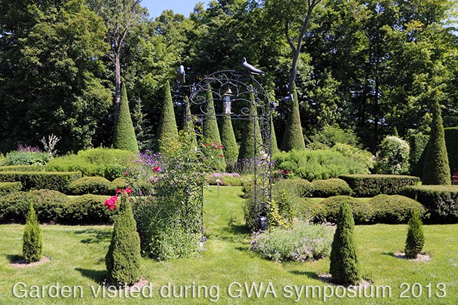 During every GWA symposium we visit private and public gardens. We see new plants and products at the trade show (and take samples home) and learn new ways to communicate about plants and gardening. All this in the good company of fellow plant geeks.