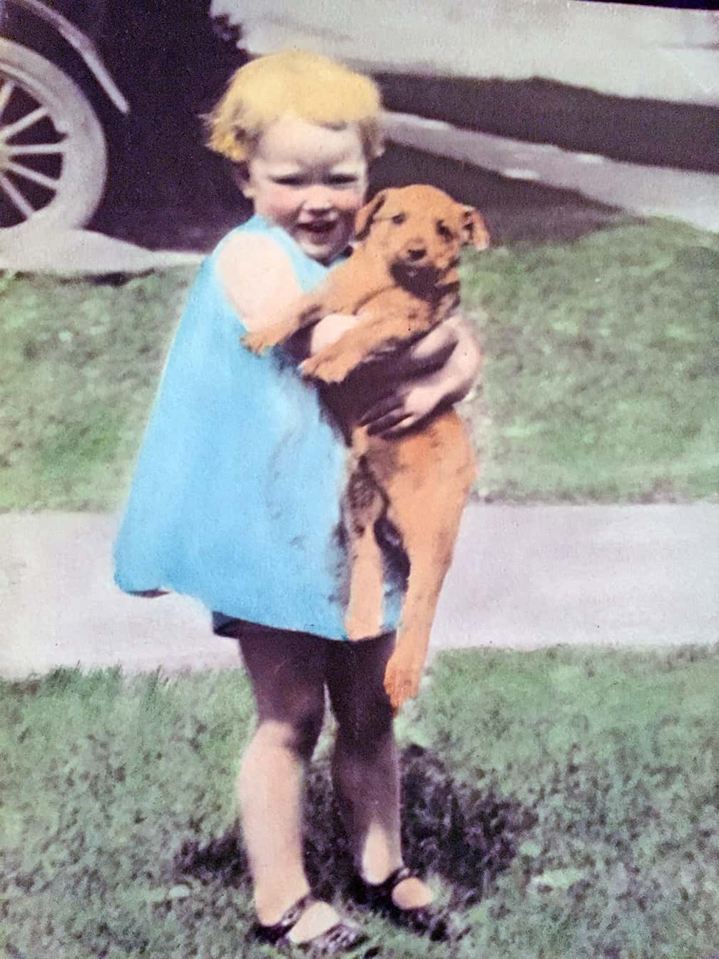 My mother always loved dogs.