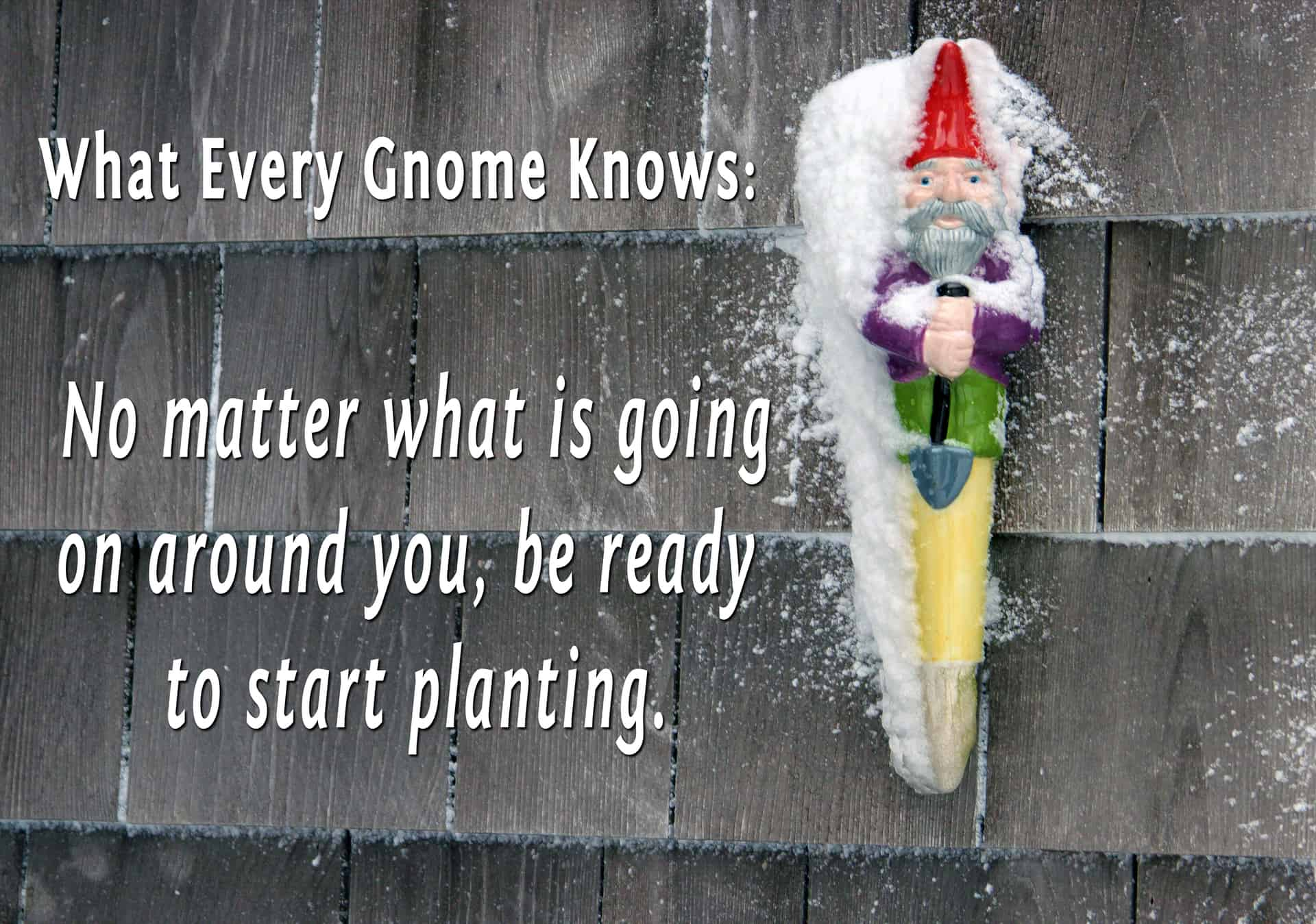 What Every Gnome Knows