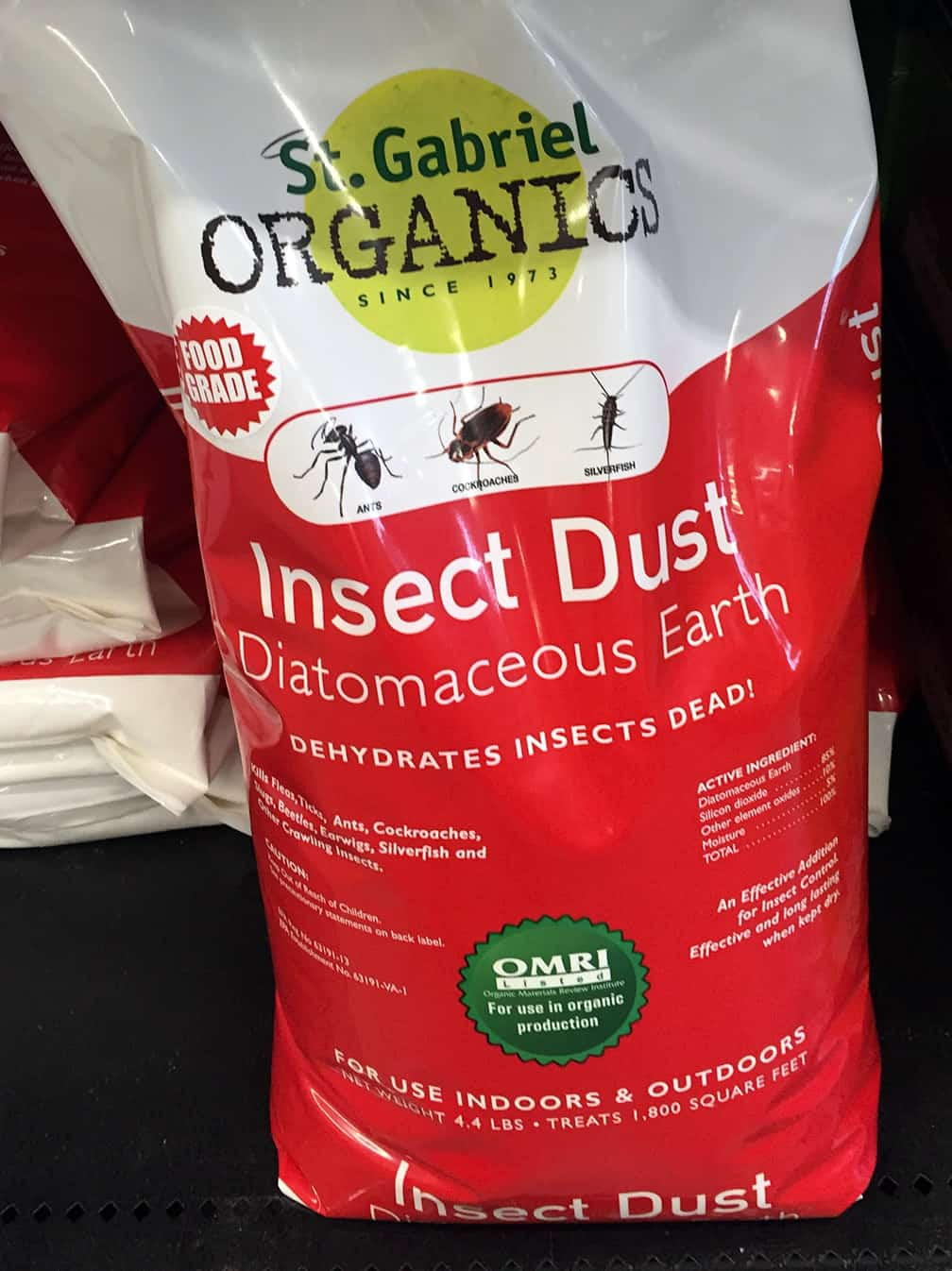 I sprinkle diatomaceous earth on all my newly planted veggies and emerging seedlings. It kills earwigs, flea beetles and slugs, the three most common pests on new veggie plants. Sprinkle a fine layer over the foliage and the soil around it. Note: do not dust when the plant is wet and don't water afterwards because this makes DE less effective. Also, don't scatter on a windy day unless you're wearing a mask so you don't breathe the dust. Even organic treatments aren't good if you take them into your lungs!